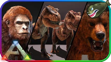 Ark: Survival Evolved | First Look at Dino TLC pass 1  Ark ...
