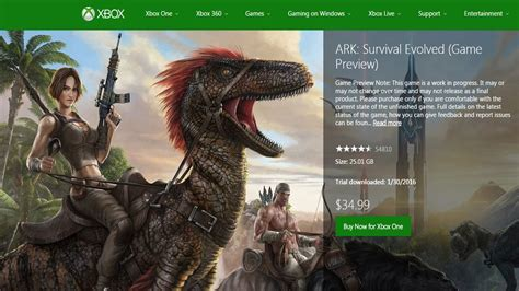 ARK Survival Evolved Free Game Preview on Xbox One   YouTube