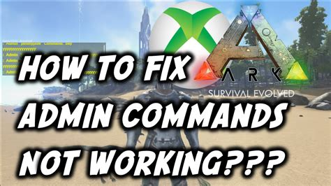 ARK: Survival Evolved How To Fix Admin Commands Not ...
