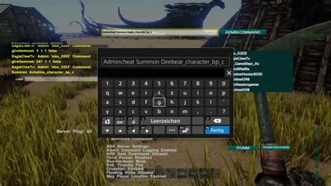 ARK Survival Evolved: How to Use Console Commands on PC ...