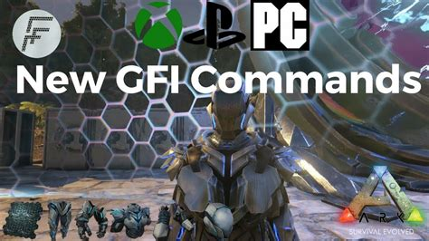 ARK: Survival Evolved How to use the new GFI Commands and ...
