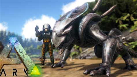 Ark Survival Evolved   INSANE XENOMORPH ALIEN CREATURES IN ...