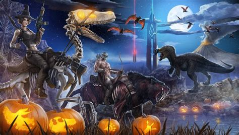 ARK: Survival Evolved Launches Fear Evolved Halloween ...