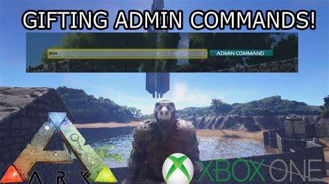ARK: SURVIVAL EVOLVED   LETTING FRIENDS USE COMMANDS ON ...