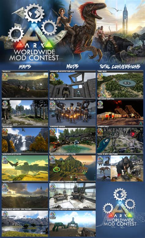 ARK: Survival Evolved Modding Contest Winners   Maps   ARK ...