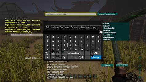 Ark Survival Evolved PS4 Cheats / Admin Command für ...