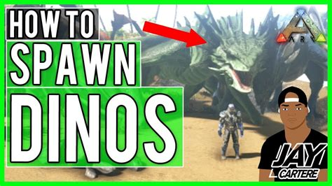 Ark Survival Evolved PS4 Tutorial   How To Spawn In All ...