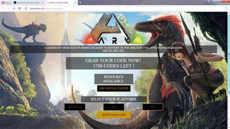 ARK Survival Evolved Redeem Code Download Assistance for ...
