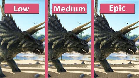 ARK: Survival Evolved – PC Low vs. Epic Detailed Graphics ...