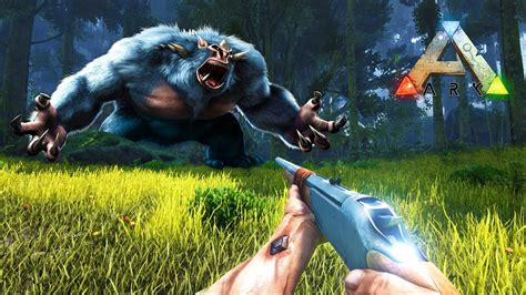 ARK: Survival Evolved   SEARCHING FOR BIGFOOT & ALPHA T ...