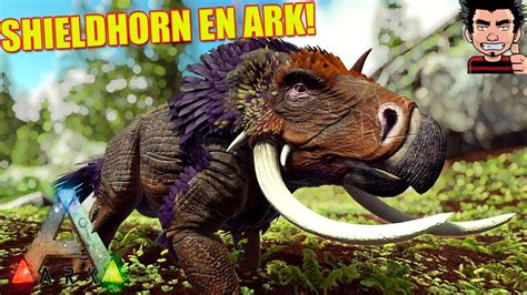 ARK SURVIVAL EVOLVED SHIELDHORN NUEVA CRIATURA CRIATURAS ...