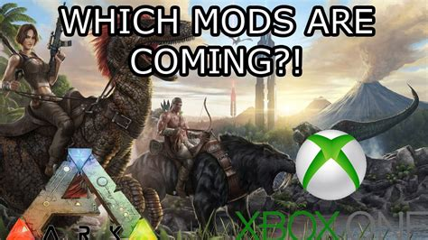 ARK: SURVIVAL EVOLVED   THE MODS COMING TO XBOX ONE   HOW ...