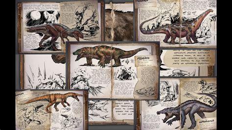Ark: Survival Evolved   Todos los dinosaurios   YouTube