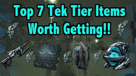 Ark Survival Evolved   Top 7 Tek Tier Items!!!   YouTube