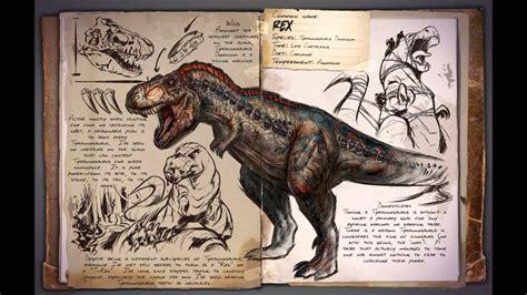 Ark: Survival Evolved   Tyrannosaurus Dominus Sounds   YouTube