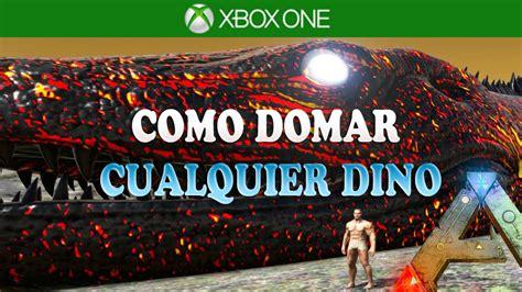 ARK: Survival Evolved Xbox One   Comando Para Domar ...