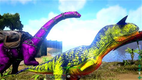 ARK: Survival Evolved Xbox One   Como Pintar Dinos con ...