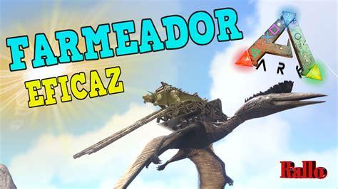 ARK SURVIVAL PS4 Quetzal Farmeador  truco cargar más peso ...