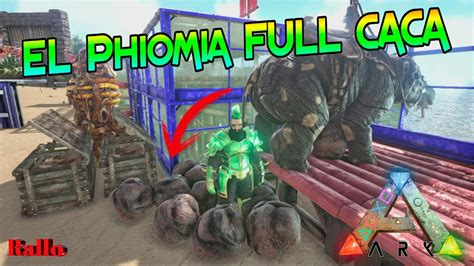 ARK SURVIVAL PS4 TRUCO PHIOMIA   YouTube
