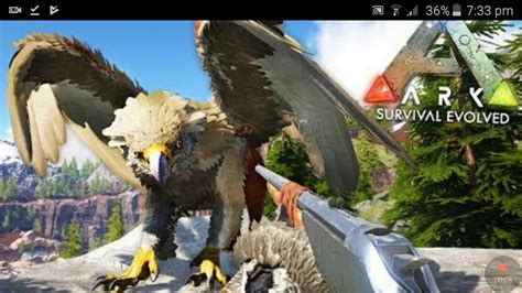 Ark Survive Evolved How to summon Griffin   YouTube