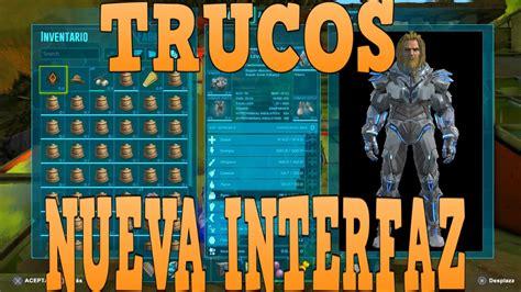ARK TODO SOBRE EL NUEVO MENU INTERFAZ , TRUCOS Y CONSEJOS ...