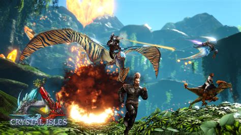 ARK  Update 2.35 Adds Crystal Isles and New Rates on PS4 ...