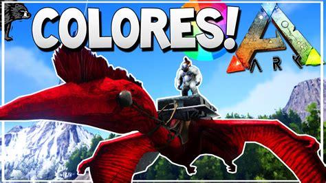 ARK Xbox One    COMO PINTAR TUS DINOS DE COLORES CON LOS ...