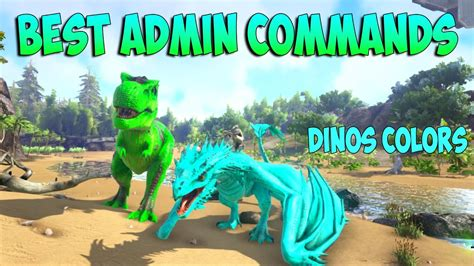 ARK XBOX ONE & PS4   ADMIN CONSOLE COMMANDS BEST & MOST ...