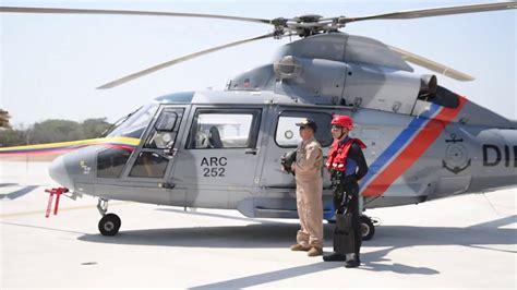 Armada de Colombia recibió sus nuevos helicópteros AS 365 ...