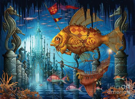 Armada Digital Art by MGL Meiklejohn Graphics Licensing