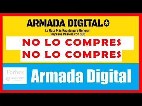 ARMADA DIGITAL  NO LO COMPRES   Opinión PERSONAL 2020 ...