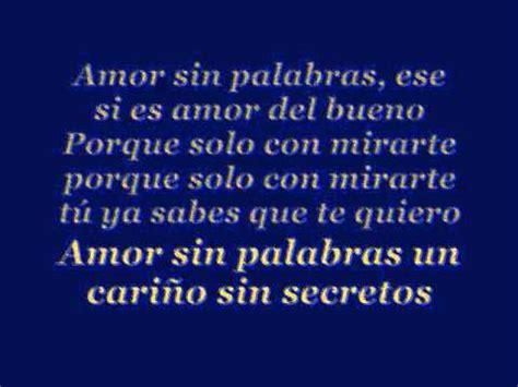 Armando: Amor Sin Palabras Lyrics   YouTube