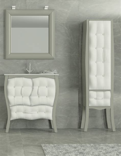 Armario Columna de Pie de baño Alca Tapizado