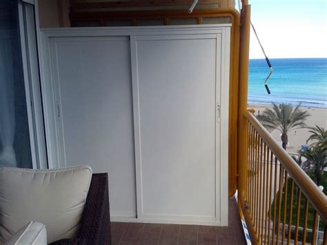 Armario de aluminio para terraza   Alicante  Alicante ...