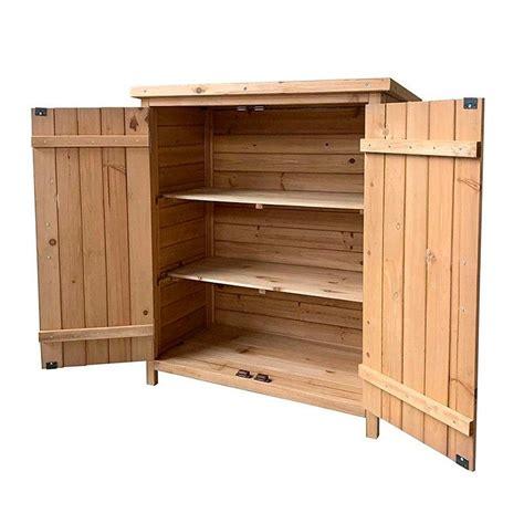 Armario de madera para exterior Abby | 75 x 40 cm
