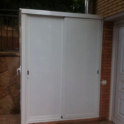 Armario de puerta corredera para garaje   Puente Ladrillo ...