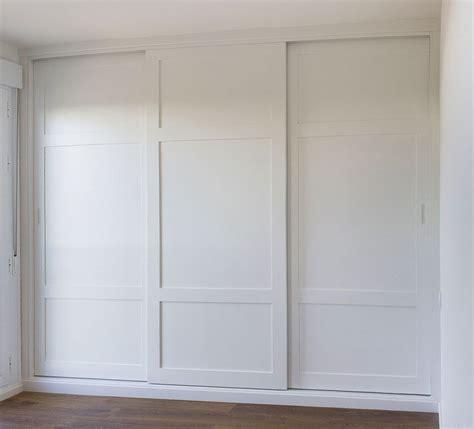 armario empotrado medida color blanco tres puertas ...