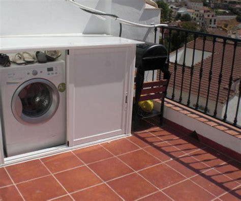 Armario exterior para lavadora o secadora : Productos y ...