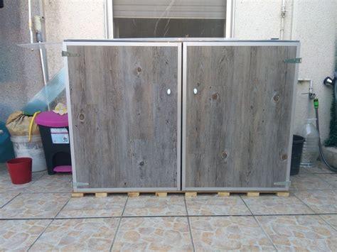 Armario exterior para lavadora y secadora   Leroy Merlin