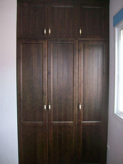 armario tono wenge tres puertas | Armario ropero, Armarios ...
