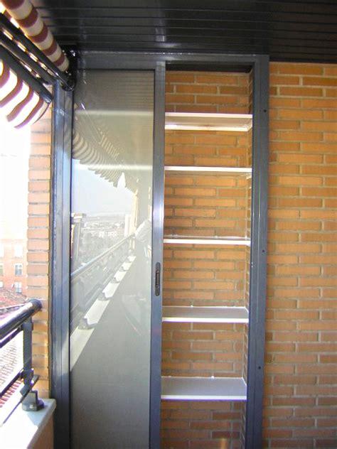Armarios a medida de aluminio para terrazas o interiores ...
