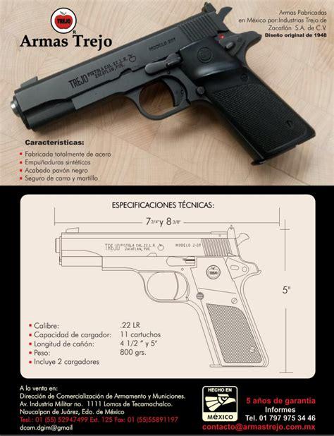 Armas Trejo: ¿Cómo conseguir un Arma de Fuego?   Hola ...