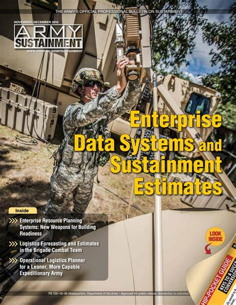Army Sustainment November December 2016 by Army ...