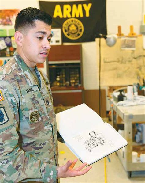 Army's artist in residence captures the lives of soldiers ...