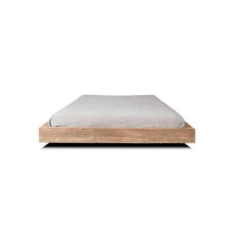 aro de cama de madera maciza de teca reciclada