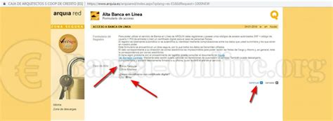 Arquia Banca   Caja de Arquitectos   Banca Online