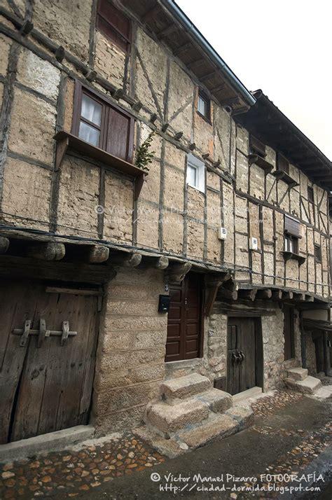 Arquitectura de entramado en San Martín de Trevejo Sierra ...