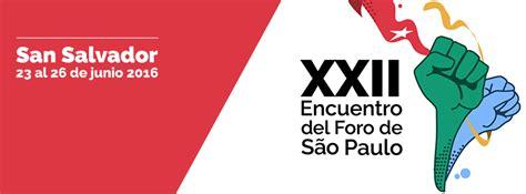 Arranca el Foro de Sao Paulo en El Salvador | La Esquina Roja