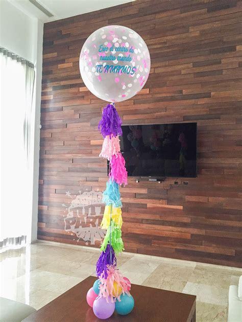 Arreglo de Globos Personalizados para Mamá   Tutti Party ...
