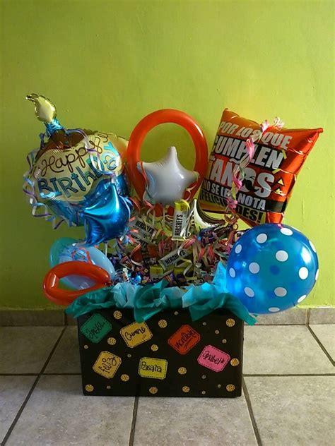 Arreglo Para Cumpleaños ,centros De Mesa, Globos   $ 550 ...